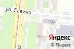 Схема проезда до компании Единая Россия в Челябинске