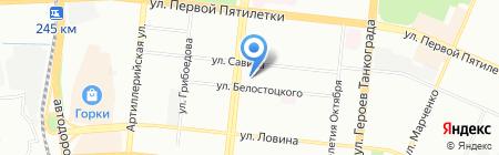 Отдел благоустройства и жилищно-коммунального хозяйства администрации тракторозаводского района г.Челябинска на карте Челябинска