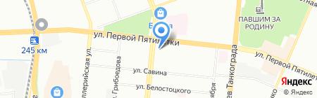Razborka174 на карте Челябинска