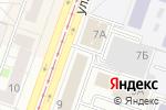 Схема проезда до компании Отделочник в Челябинске