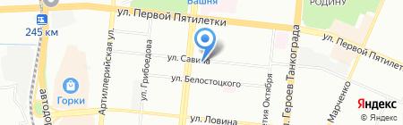 Детская школа искусств №3 на карте Челябинска