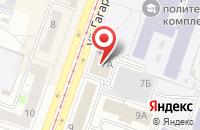 Схема проезда до компании Уралспецтехника в Челябинске