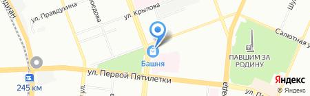 Belleza на карте Челябинска