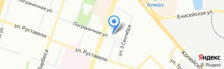 Адвокатский кабинет Найверт С.В. на карте Челябинска