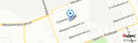 ЮжУралСеть на карте Челябинска