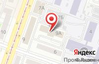 Схема проезда до компании Инг. Сенамаир в Челябинске