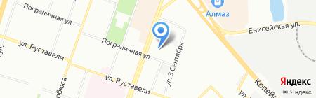 Банкомат АКБ ЧЕЛИНДБАНК на карте Челябинска
