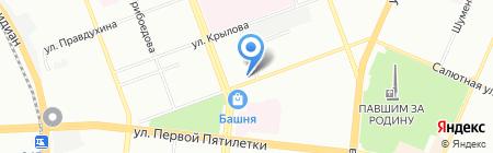 Аптека.ру на карте Челябинска