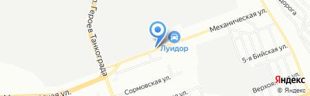 Тимир на карте Челябинска