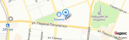 Сеть магазинов пчелотоваров на карте Челябинска