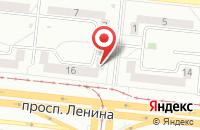 Схема проезда до компании Костомаров А.Ю в Астрахани