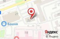 Схема проезда до компании Сырые Резины в Челябинске