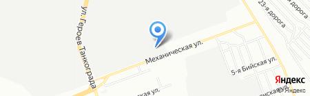 Россвая на карте Челябинска