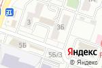 Схема проезда до компании Genial в Челябинске