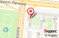 Схема проезда до компании ВОСХОЖДЕНИЕ в Астрахани