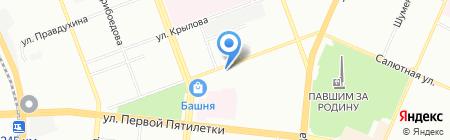 Норма на карте Челябинска