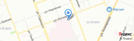 Автобат-Сервис на карте Челябинска