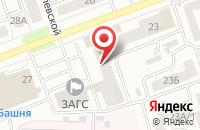 Схема проезда до компании Технополис в Челябинске