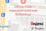 Схема проезда до компании Гаражный кооператив №414 в Челябинске