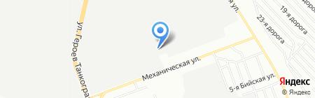 Сервис-Транс на карте Челябинска