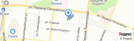 Комплексная безопасность на карте Челябинска