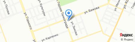 Детские Городки на карте Челябинска