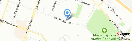 Вита на карте Челябинска