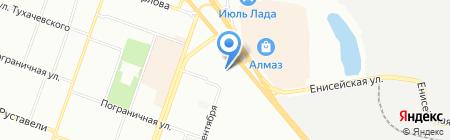 МАВТ ВИНОТЕКА на карте Челябинска