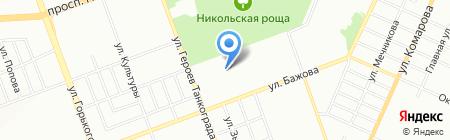 Детская библиотека №4 на карте Челябинска