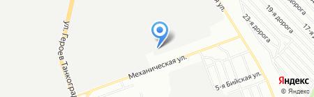 АвтоТрак на карте Челябинска
