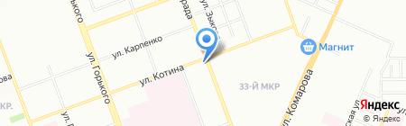 Хорошее настроение на карте Челябинска