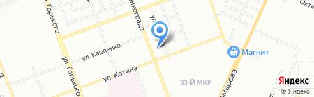 СПАРТАК на карте Челябинска