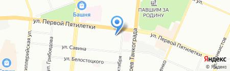 Отделение дневного пребывания на карте Челябинска