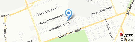 АВТОФОРСАЖ на карте Челябинска