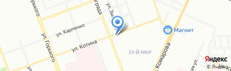 Лаванда на карте Челябинска