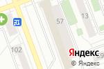 Схема проезда до компании Любимая одежда в Челябинске
