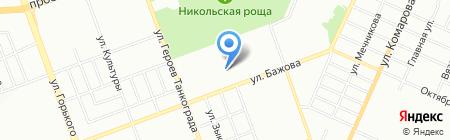 Детский сад №456 на карте Челябинска