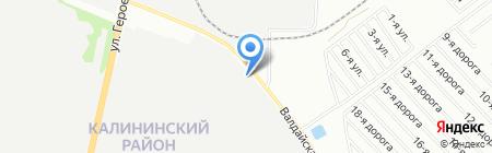 Техрегион на карте Челябинска