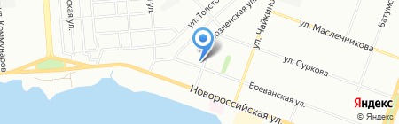 Фактура на карте Челябинска