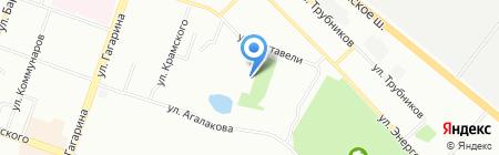 Продуктовый магазин на Южном бульваре на карте Челябинска