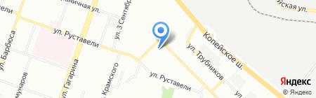 Урал-Полимер-Лак на карте Челябинска