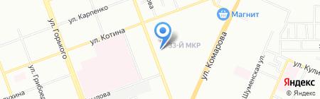 Пенное место на карте Челябинска