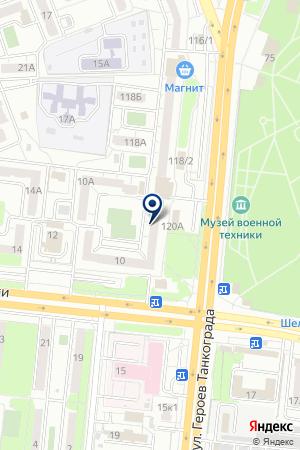 САЛОН КРАСОТЫ КОКОС на карте Челябинска