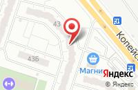 Схема проезда до компании Элит-Печать в Челябинске