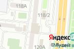 Схема проезда до компании TechnoGym в Челябинске