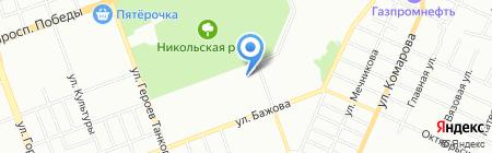 Детский сад №336 на карте Челябинска
