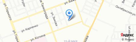 ЛТП Калибр на карте Челябинска