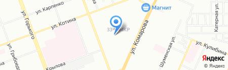 Азбука проката на карте Челябинска