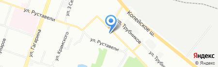 Людям милая на карте Челябинска