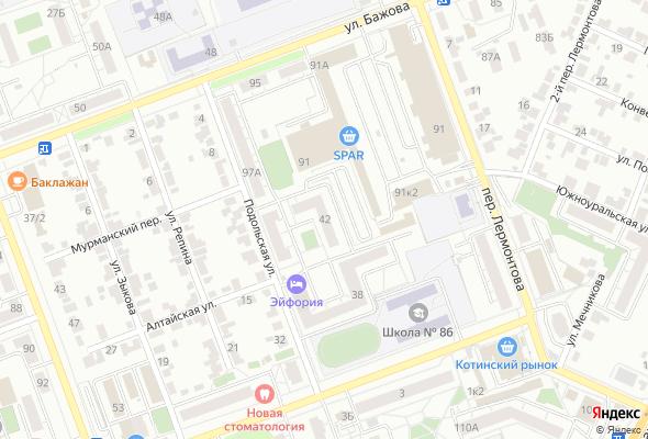 жилой комплекс по ул. Бажова